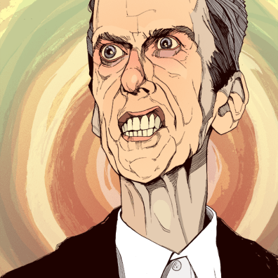 Peter Capaldi the Twelfth Doctor portrait