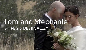 Tom and Stephanie // St. Regis Deer Valley