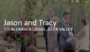 Jason and Tracy // Stein Eriksen Lodge