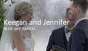 Keegan and Jennifer // Blue Sky Ranch
