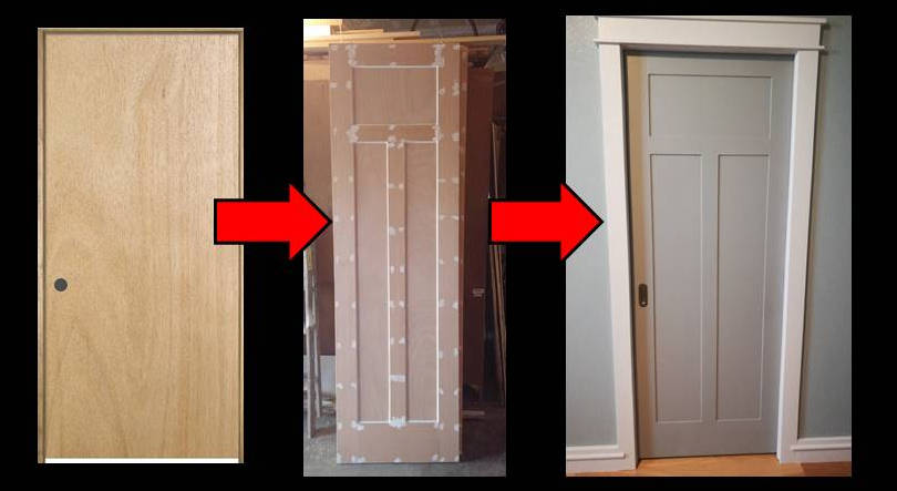 Who Doesnu0027t Hate Those Cheap Looking Flat Doors? In My Last Post About  Installing Pocket Doors, You May Have Seen A Glimpse Of Our New Shaker  Style Doors.