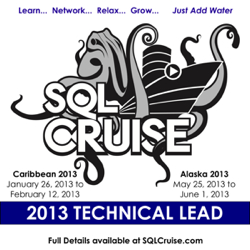 SQLCruise Technical Lead