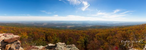 Mount Magazine, view from the top.