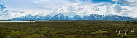 Grand Teton National Park, Jackson, Wyoming. Taken May 22, 2015.