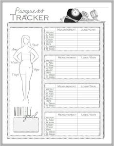 By ryanlima also monthly weight loss chart pdf template measurement rh ryanjlima