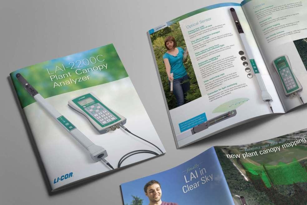 LAI-2200C Plant Canopy Analyzer campaign layout