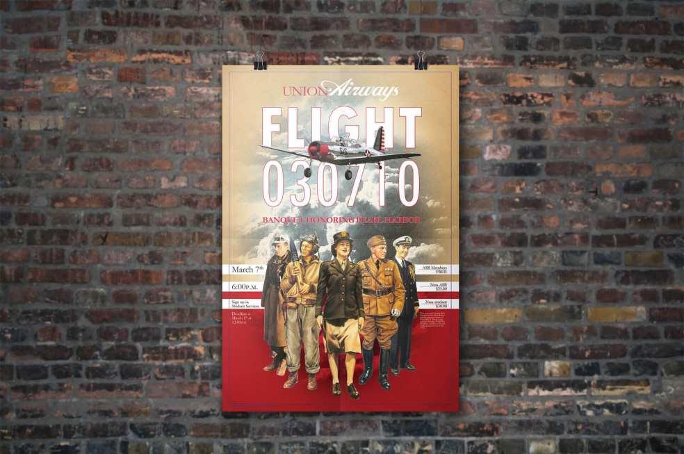 Union Airways ASB Banquet Poster