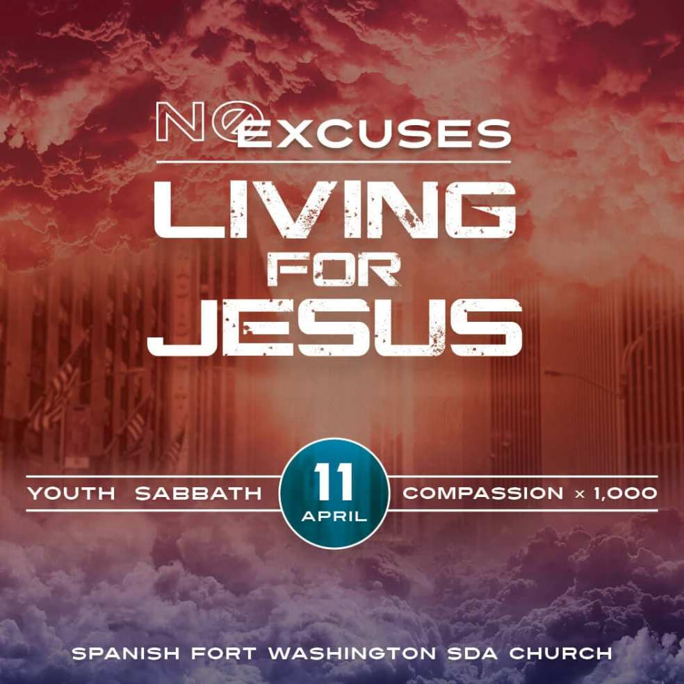 No Excuses Living for Jesus Ad