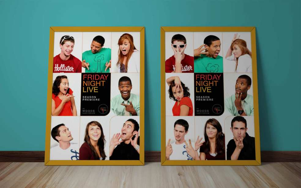 Friday Night Live Season 3 Premiere posters