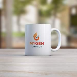 MYGEN Church mug