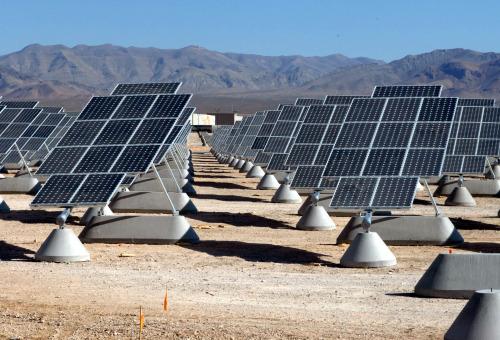Solar panels via Archillect