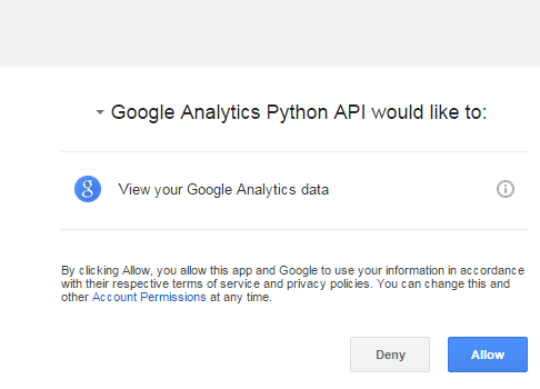 Google Analytics Reporting API Python Tutorial - ryanpraski com