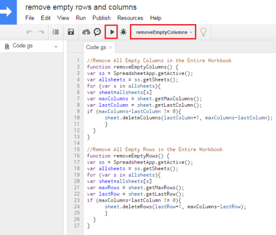 google_sheet_script_remove_empty_rows_columns