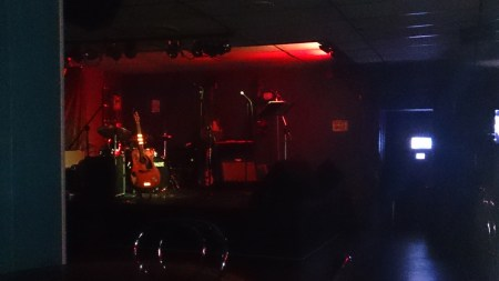 The stage at The Empire Tavern in Kapuskasing.