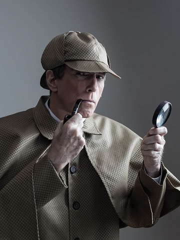 [Repertory]Paul Holme as William Gillette