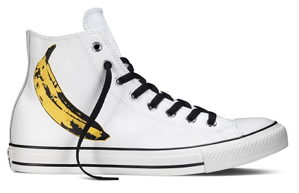 CHUCK TAYLOR ALL STAR ANDY WARHOL HICUT BANANA GRAPHICS PHP 4 950