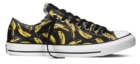 CHUCK TAYLOR ALL STAR ANDY WARHOL LOW CUT BANANA GRAPHIC PHP 4 450