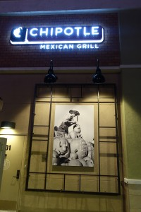 I just thought this was cool chipotle sign