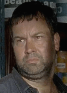 The face that even a mother can't love, Bruce. (photo credit: http://walkingdead.wikia.com)