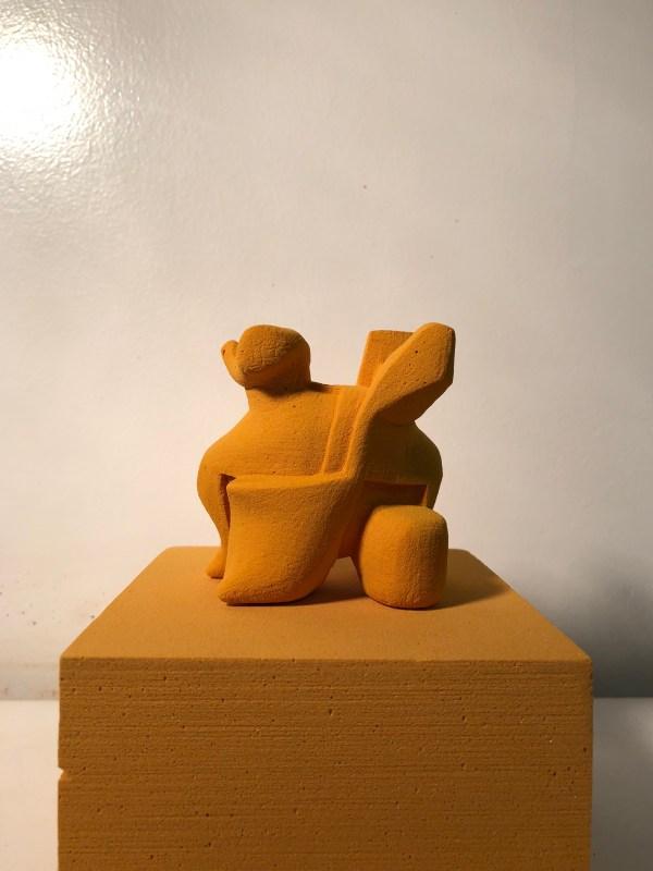 Reducing Form Sculpture Process Ryan Seslow Art & Design