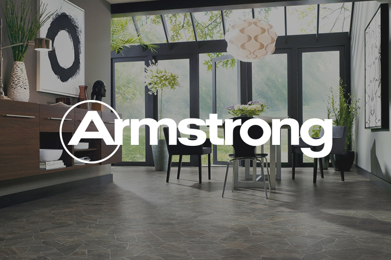 Ryan's Flooring is proud to carry Armstrong sheet vinyl products.