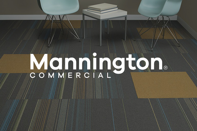 Ryan's Flooring is proud to carry Mannington Commercial flooring products.