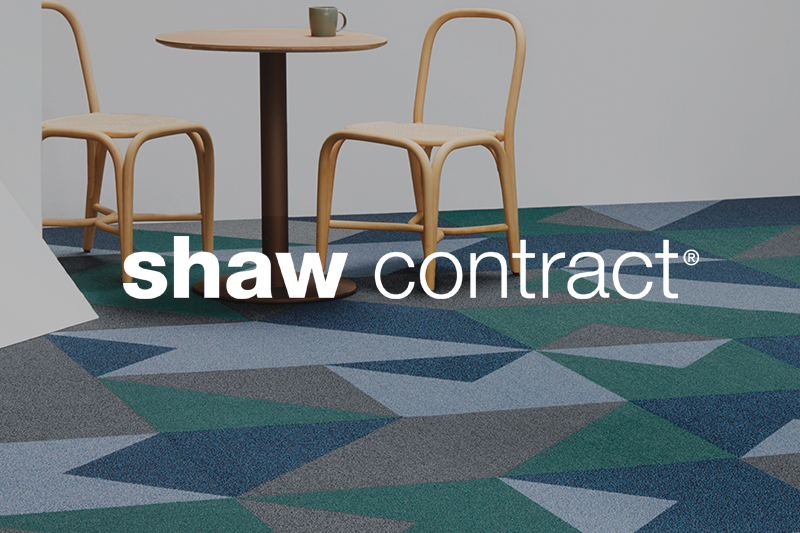 Ryan's Flooring is proud to carry Shaw Contract commercial flooring products.