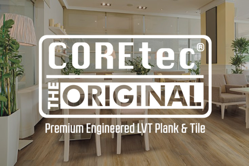 Ryan's Flooring Sales & Service is proud to offer Coretec LVT products