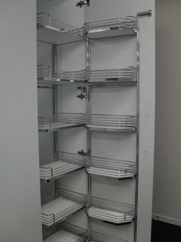 Hafele Pantry Unit  Tandem  Ryans Kitchens And Joinery