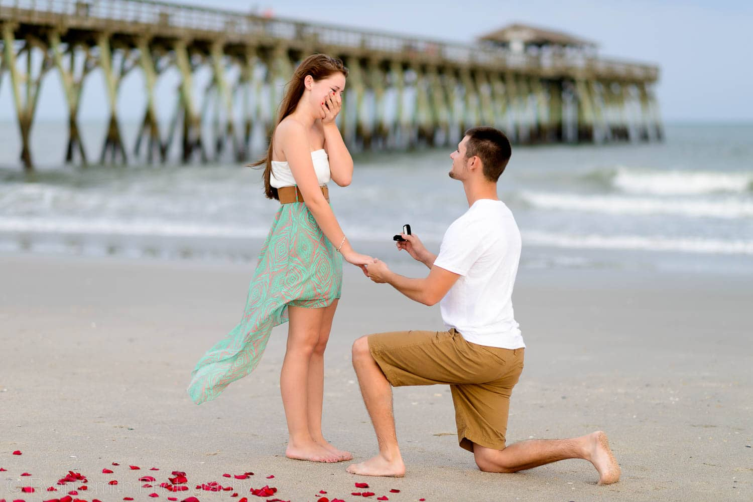 Portfolio of Myrtle Beach engagement photography by Ryan Smith