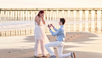 She said yes - Myrtle Beach State Park