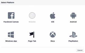 Add Page Tab to Facebook