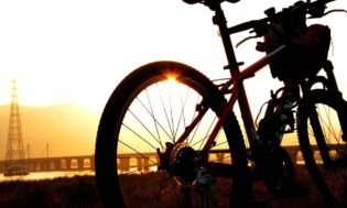 sunset-bike