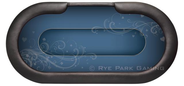 Poker Table Felts Custom Layouts Rye Park Poker