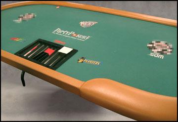 Tournament Poker Table World Series Setup Rye Park Poker