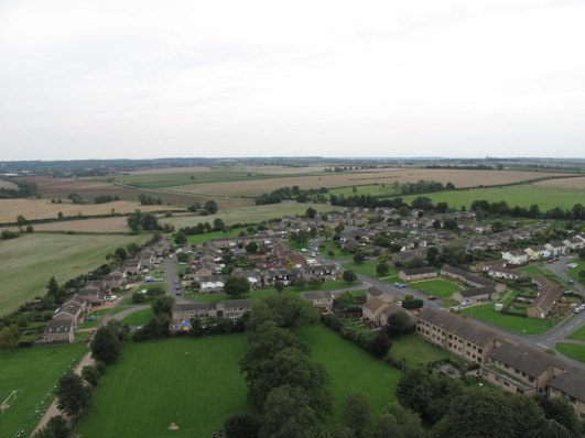 Ryhall from Above Copyright Owen Rushby 4