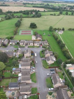 Ryhall from Above Copyright Owen Rushby 6