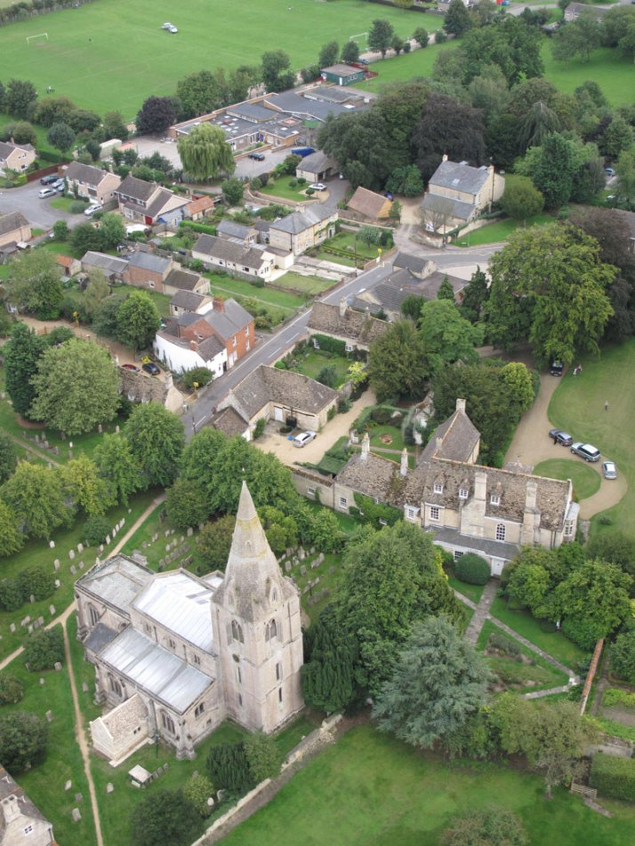 Ryhall from Above Copyright Owen Rushby 11
