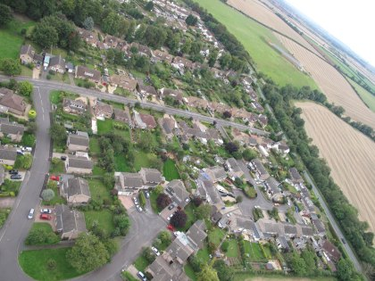 Ryhall from Above Copyright Owen Rushby 12