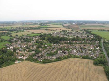 Ryhall from Above Copyright Owen Rushby 16