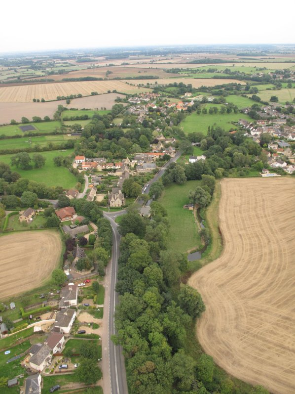 Ryhall from Above Copyright Owen Rushby 18