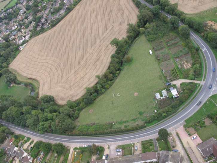 Ryhall from Above Copyright Owen Rushby 19