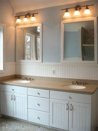 Wainscot Double Bathroom Vanity | Orange County, NY | Rylex