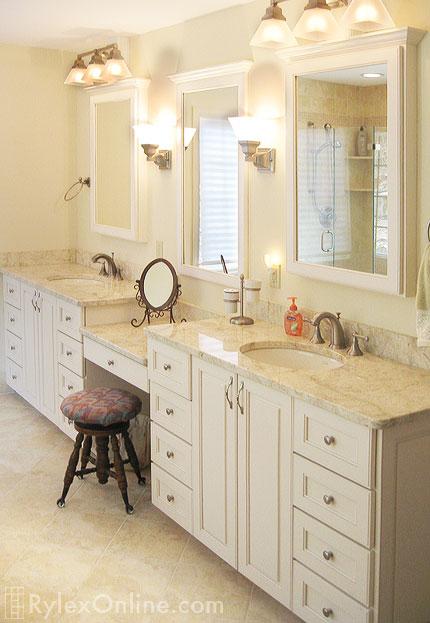 Granite Bathroom Vanity  Westchester County  Rylex