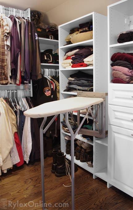 Shoe Shelves Shoe Cubbies Warwick NY Rylex Custom