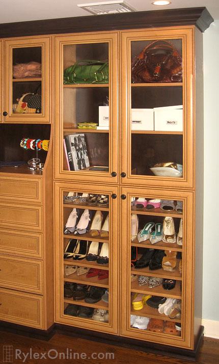 Built in Dressing Room  Orange County NY  Rylex Custom Cabinetry