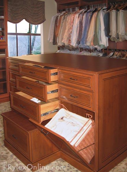 Master Walkin Bedroom Closet with TV  Orange County NY