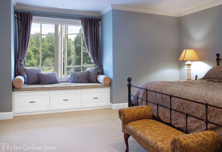 Window Seat With Deep Drawers Built In Storage Warwick