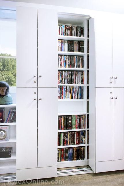 Sliding Cabinet DVD Storage  Orange County NY  Rylex