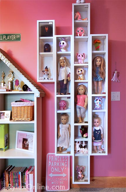 Doll Display Cabinet